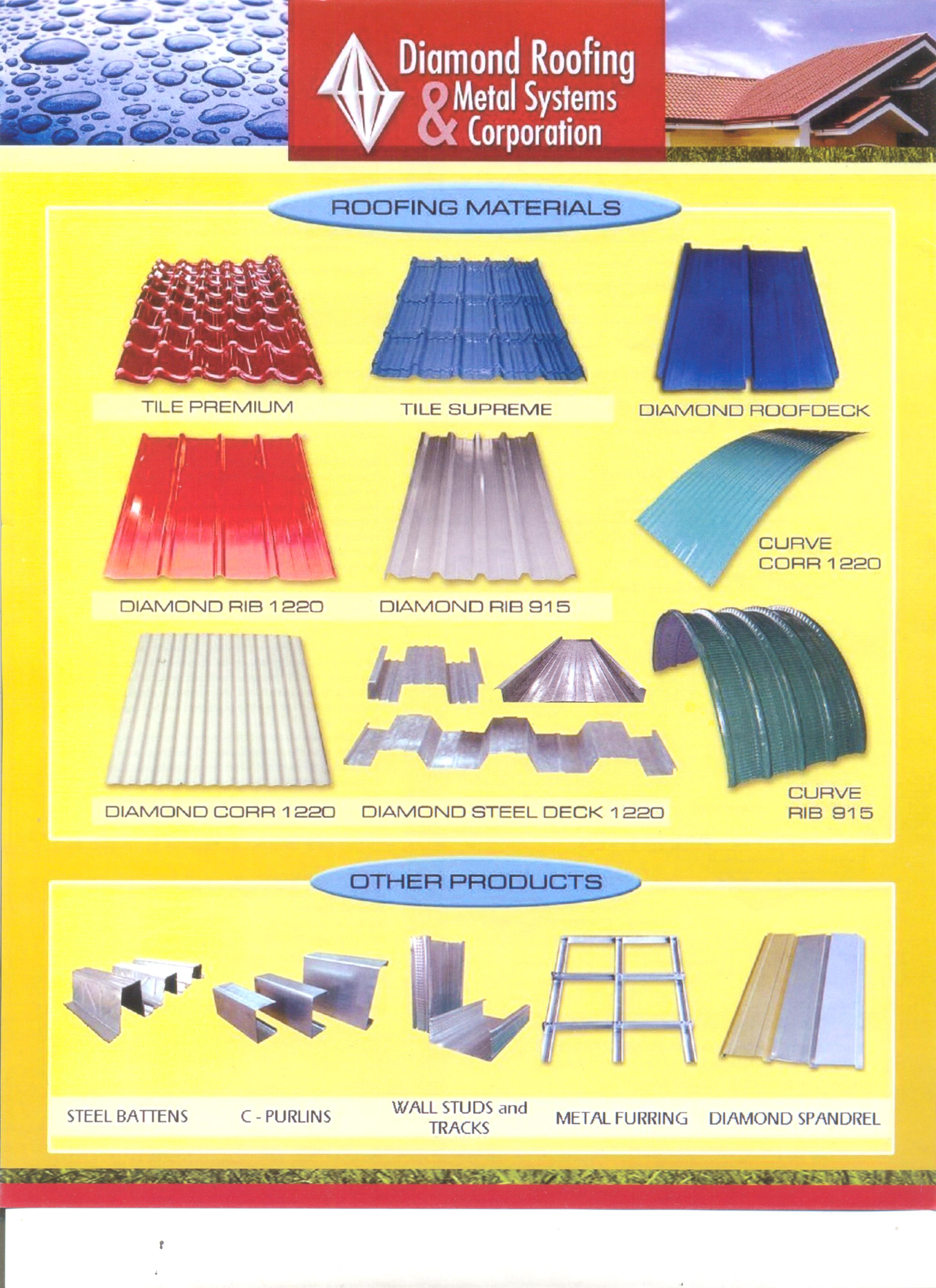 Diamond Roofing Metal Systems Corporation